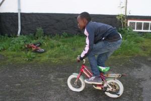 Trane - James på cykel