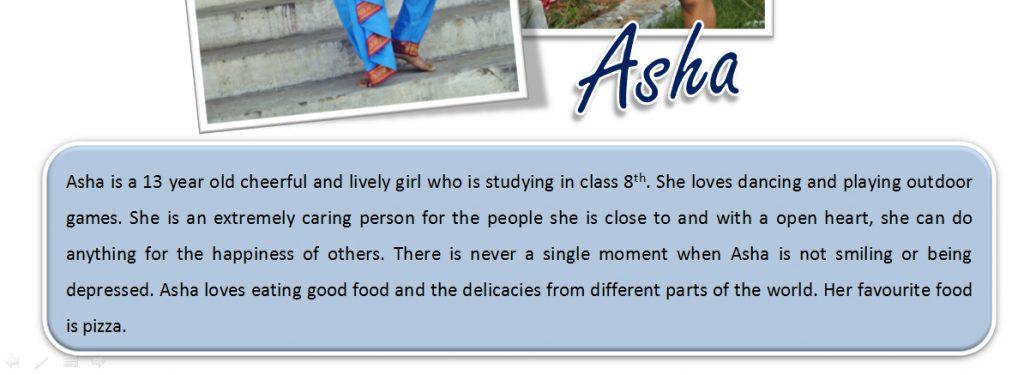 txt Portfolio Asha