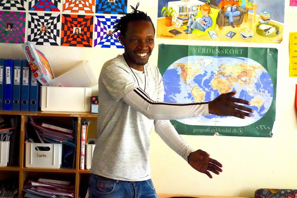 Joel Kirambo i Danmark 2019